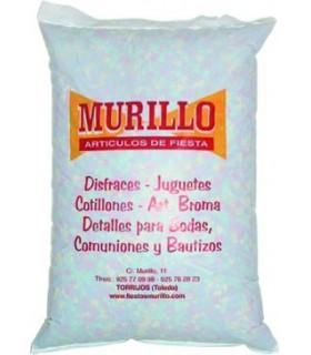 Bolsa de 1 kg. confetti multicolor