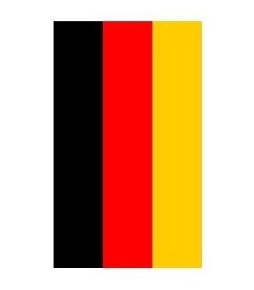Bandera plástico de Alemania