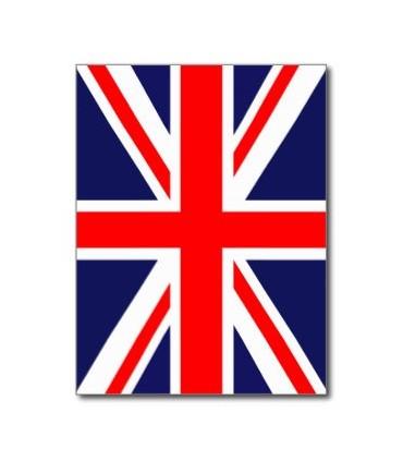 Bandera de Plástico de Gran Bretaña
