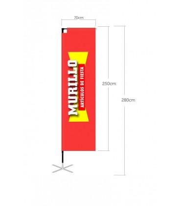 Bandera publicitaria modelo Easy