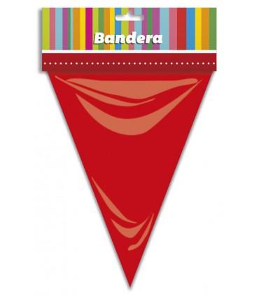 Bolsa Bandera Triangular Rojo