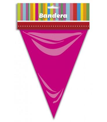 Bandera Triangular Rosa