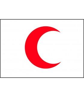 Bandera Media Luna Roja