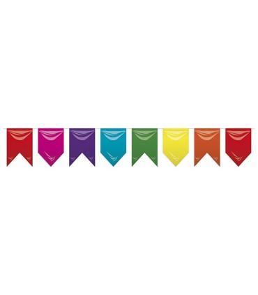 Bolsa de Banderas Medievales Plástico