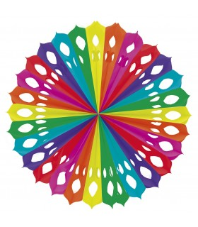 Abanico de papel Multicolor