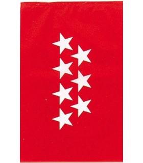 Bolsa Bandera Plástico Madrid