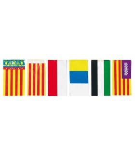Bandera de plástico de autonomias