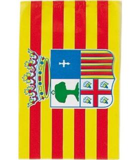 Bandera de plástico de aragón
