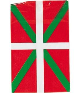 Bandera de plástico de Euskadi