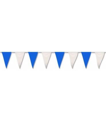 Bolsa Gallardete Blanco y Azul