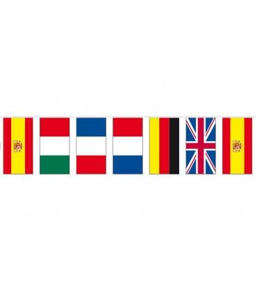 Bolsa Bandera Plástico Internacional