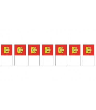 Bolsa Bandera Plástico Castilla la Mancha