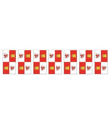 Bolsa Bandera Plástico Castilla León