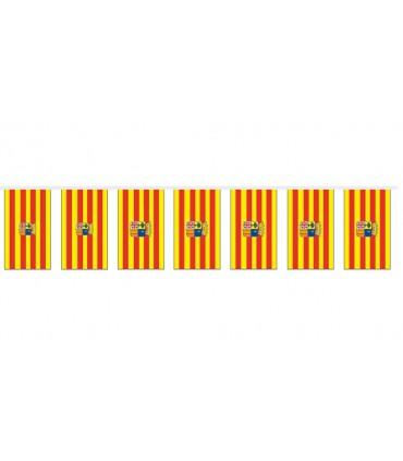 Bolsas Bandera Plástico Aragón