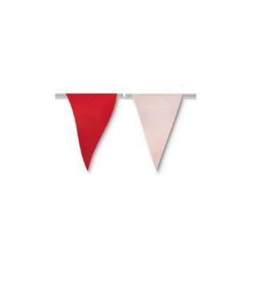 Bolsa de Gallardete Blanco y Rojo