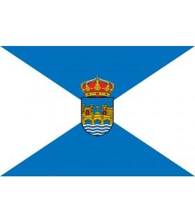 Bandera de Pontevedra Ciudad