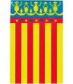 Bandera de plástico Valencia