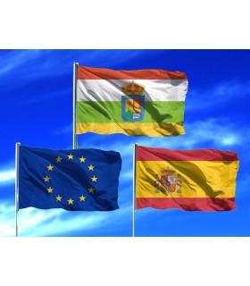 Lote de Banderas de La Rioja