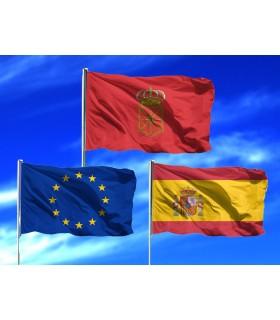 Lote de Banderas de Navarra