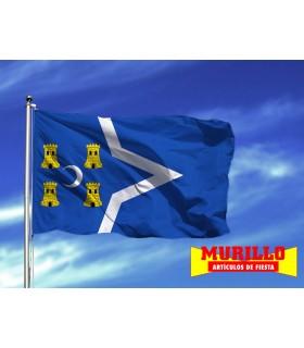 Bandera de La puebla de Hijar